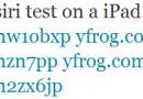 Siri auf iPad portiert