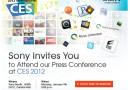 Sony lädt zum Presse-Event nach Las Vegas ein – CES 2012