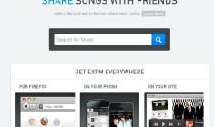 exfm – Kostenlose Grooveshark Alternative auch für Android