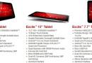 Toshiba stellt gleich drei neue Excite-Tablets vor