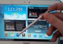 Samsung Galaxy Note 10.1 mit einigen Veränderungen