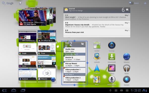 Android 3.1 - Die Funktionen
