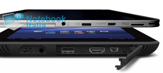 """Das neue """"dünne"""" Toshiba Tablet - Neuheit zur IFA 2011"""