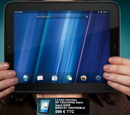 Neues HP TouchPAD mit 64 GB und 1,5 GHz dual Core Chipsatz aufgetaucht
