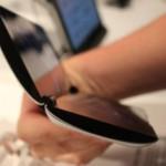 Sony Tablet P - Seitenansicht