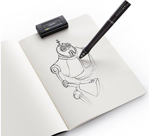 Wacom Inkling:Digitales Zeichenbrett auf Papier