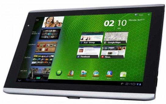 Acer Iconia Tab A500 bei Amazon für 399,- Euro zu haben