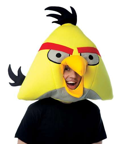 Freudestrahlender &quot;Angry Bird&quot;
