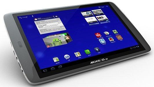 Das Archos 101 G9 mit Android Honeycomb 3.2