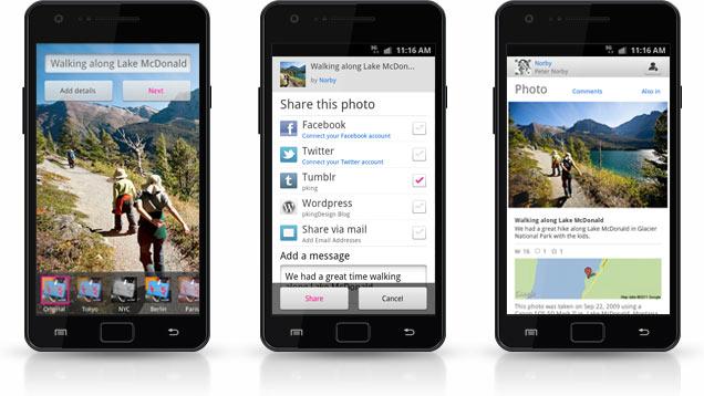 Flickr präsentiert Android App