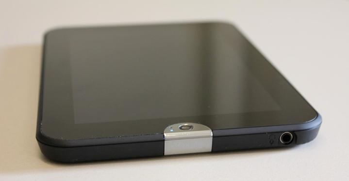 Frontseite des neuen Tablets