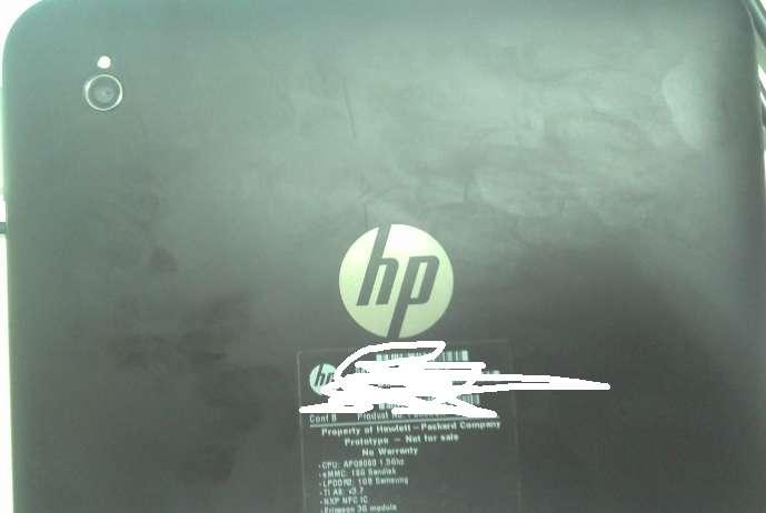 HP TocuhPad Opal