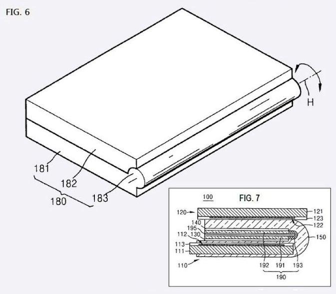 Samsung mit neuen Tablet Patent - Klappbares Tablet