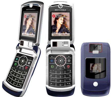 Ein paar Jahre später - Motorola Razr