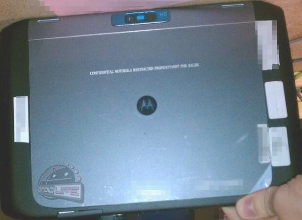 Sehen wir hier das XOOM 2 von Motorola?