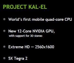 Nvidea Kal el Chipsatz - Quadcore CPU