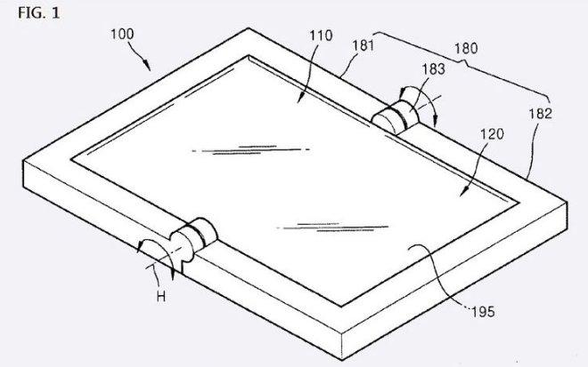 Samsung Klapp Tablet