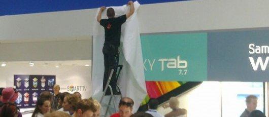 Samsung Galaxy Tab 7.7 wird von der IFA 2011 entfernt