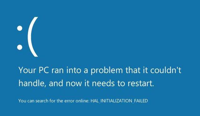 Windows 8 mit neuem Bluescreen of Death