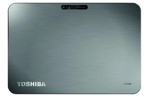 Rückseite des Toshiba AT200 Tablets