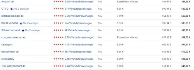HTC Flyer Preise in Deutschland