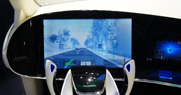 Das Cockpit der Zukunft von Panasonic