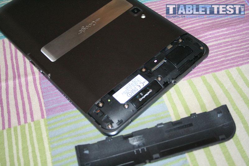UMTS SIM-Kartenslot beim LG Optimus Pad V900
