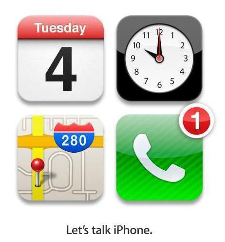 Let´s talk iPhone. Einladung von Apple zum Presse-Event in Cupertino