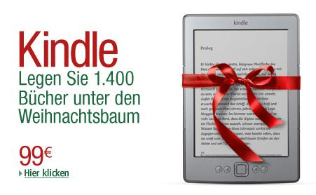 Amazon Kindle zu Weihnachten