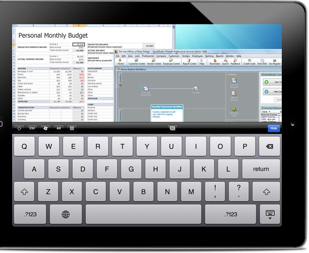 LogMeIn mit kostenloser App für iPad und iPhone