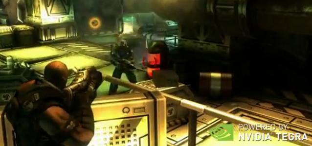 Shadowgun auf Tegra 3 Plattform