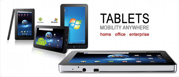 Viewsonic präsentiert neue Tablets zu CES 2012