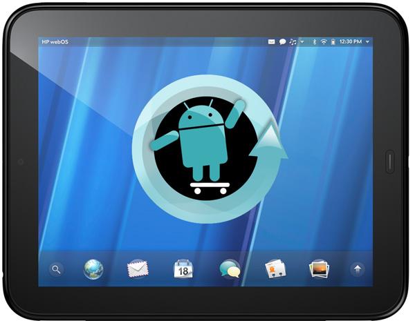 HP TouchPad mit CyanogenMod