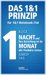 1 Klick Prinzip von 1und1 