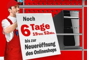 Mediamarkt Onlineshop eröffnet am 16.01.2012