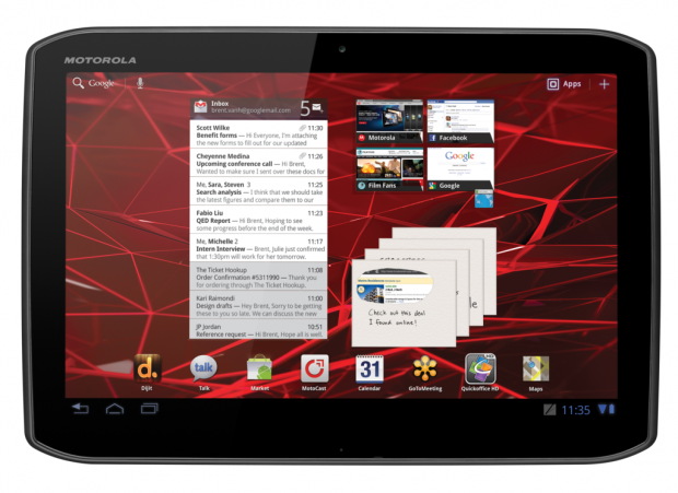 Das Motorola XOOM 2 Tablet