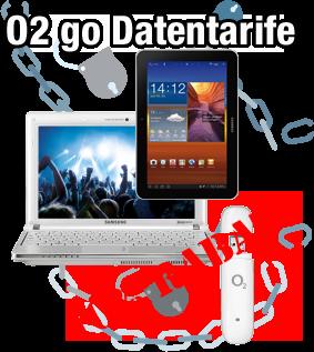O2 go Datentarife - Gutschein Rabatt