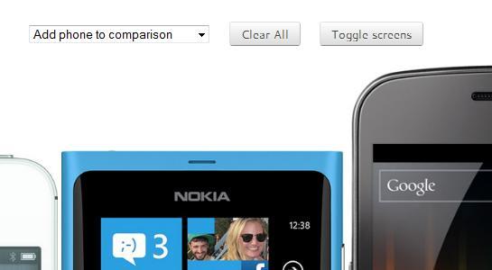 Smartphone-Größen auf phone-size.com vergleichen