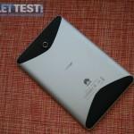 Die Rückseite des MediaPads von Huawei - Edles Alu