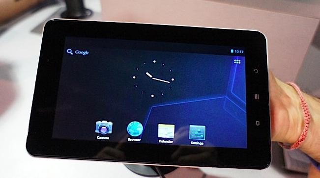 Das ViewPad E70 - Einsteiger Tablet auf der CES 2012