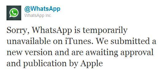 Whats App fliegt aus dem iTunes Appstore