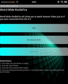 World Wide KindleFire App