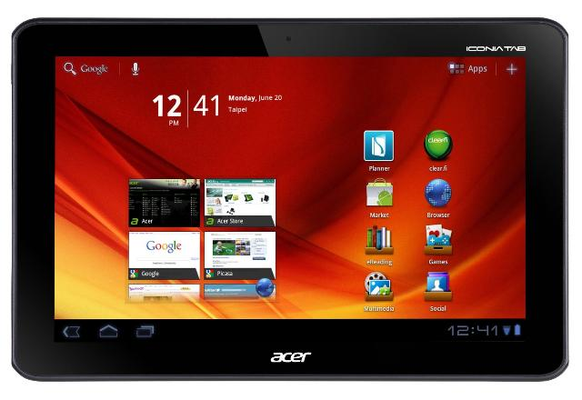Acer Iconia Tab A200 ab sofort verfügbar