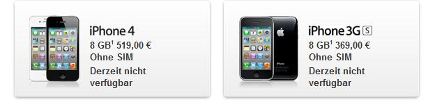 Auch iPhone Modelle vom Verbot betroffen