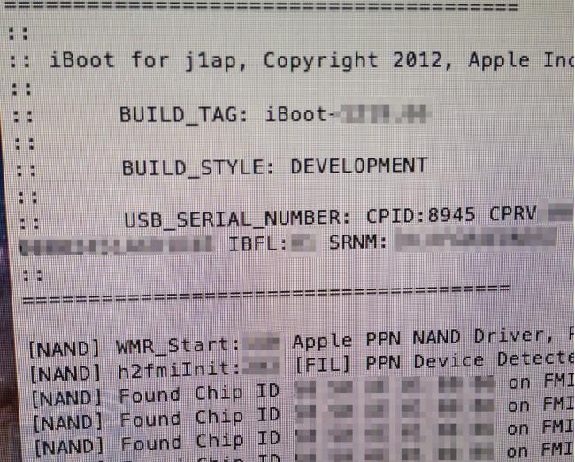 Sieht man hier die technischen Spezifikationen des iPad 3?