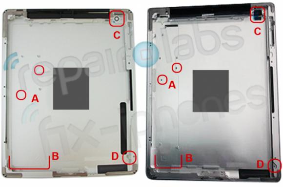 Ist das das neue Backcover des Apple iPad 3?