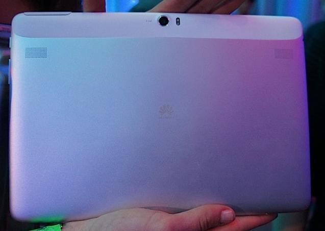 Rückseite des Huawei MediaPads 10 FHD